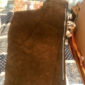 Leather Western Riding Chaps